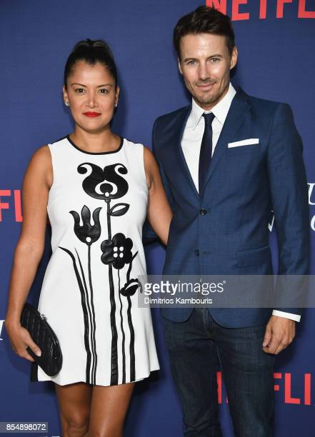 Kate Lundqvist and Alex Lundqvist attend the Netflix Hosts The New York Premiere Of 'Our Souls At Night' at The Museum of Modern Art on September 27...