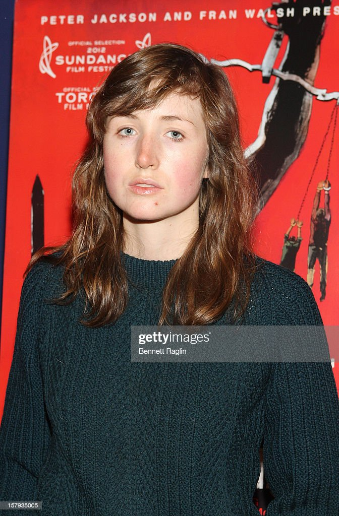 Kate Lyn Shell attends the 'West Of Memphis' premiere at Florence Gould Hall on December 7, 2012 in New York City.