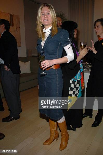 Kate Mahon attends The Chamber Music Society of Lincoln Center Young Patrons Event with Music Art and More at The Caio Fonseca Studio on February 16...