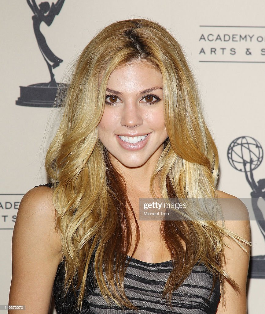 Kate Mansi arrives at 39th Daytime Entertainment Emmy Awards - nominees reception held at SLS Hotel on June 14, 2012 in Beverly Hills, California.