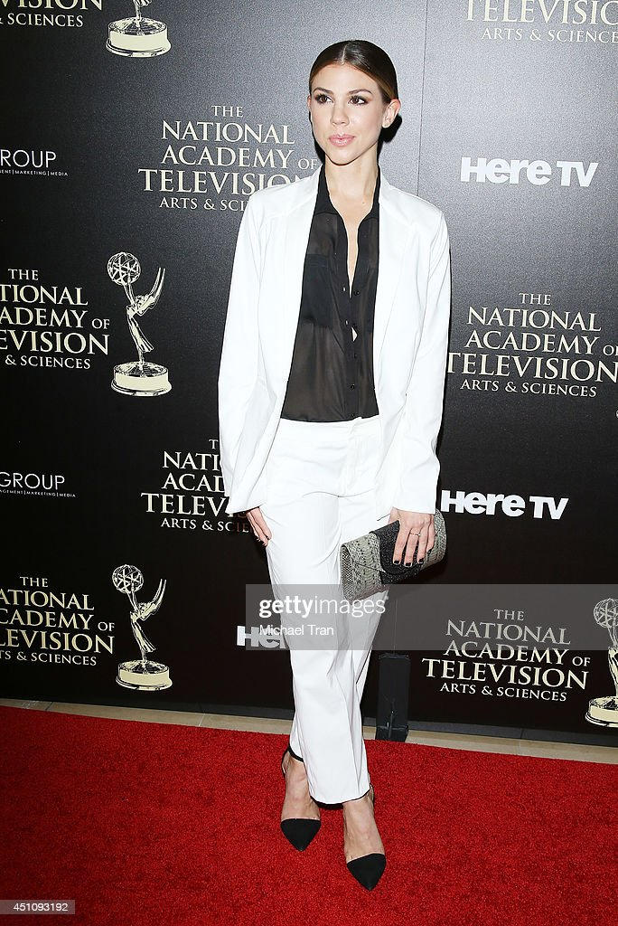 Kate Mansi arrives at the 41st Annual Daytime Emmy Awards held at The Beverly Hilton Hotel on June 22 2014 in Beverly Hills California