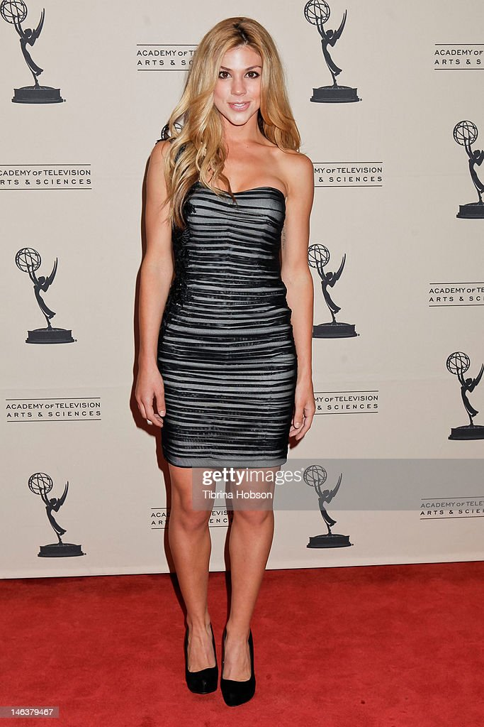 Kate Mansi attends the 39th annual daytime Emmy Awards nominees reception at SLS Hotel on June 14, 2012 in Beverly Hills, California.