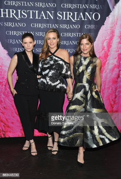 Kate Mara Alicia Silverstone and Selma Blair attend Christian Siriano's celebration of the launch of his new book 'Dresses To Dream About' in Los...