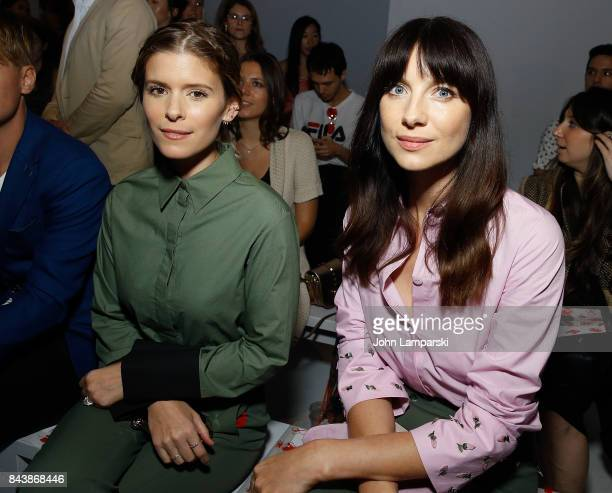 Kate Mara and Caitriona Balfe attend Noon By Noor September 2017 New York Fashion Week The Shows at Gallery 3 Skylight Clarkson Sq on September 7...