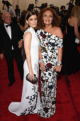 Kate Mara and Diane von Fürstenberg attend the 'China Through The Looking Glass' Costume Institute Benefit Gala at the Metropolitan Museum of Art on...