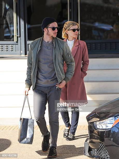 Kate Mara and Jamie Bell are seen on December 17 2016 in Los Angeles California