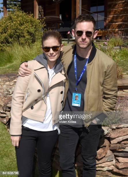 Kate Mara and Jamie Bell attend Telluride Film Festival 2017 on September 1 2017 in Telluride Colorado