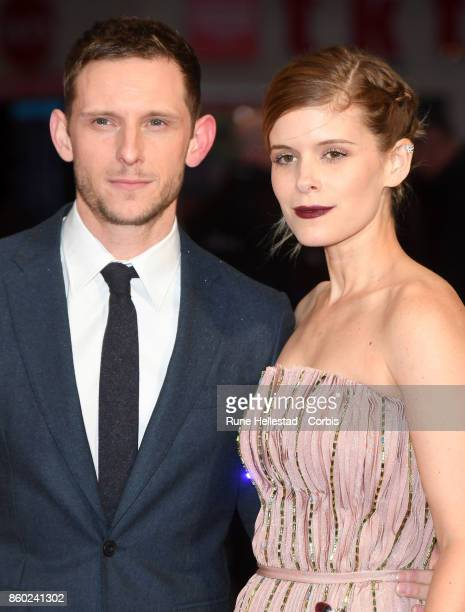 Kate Mara and Jamie Bell attend the European Premiere of 'Film Stars Don't Die In Liverpoat Odeon Leicester Square 61st BFI London Film Festival