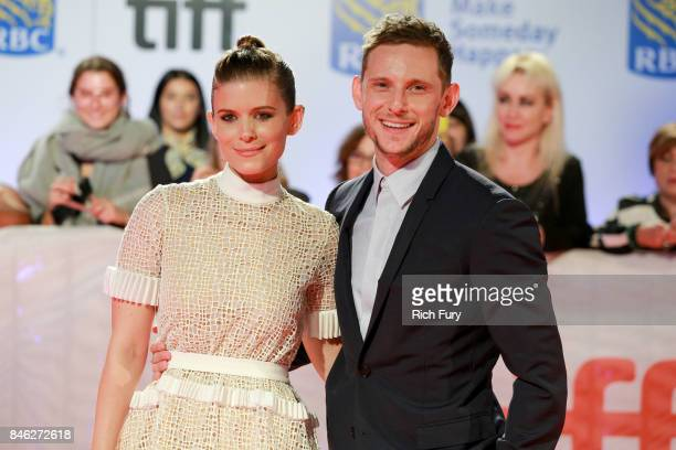 Kate Mara and Jamie Bell attend the 'Film Stars Don't Die in Liverpool' premiere during the 2017 Toronto International Film Festival at Roy Thomson...