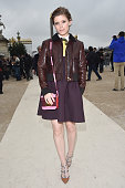 Kate Mara arrives at Valentino Fashion Show during Paris Fashion Week Fall Winter 2015/2016 on March 10 2015 in Paris France