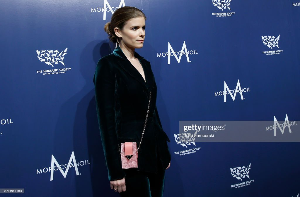 Kate Mara attends 2017 Humane Society of The United States to the Rescue! New York Gala at Cipriani 42nd Street on November 10, 2017 in New York City.
