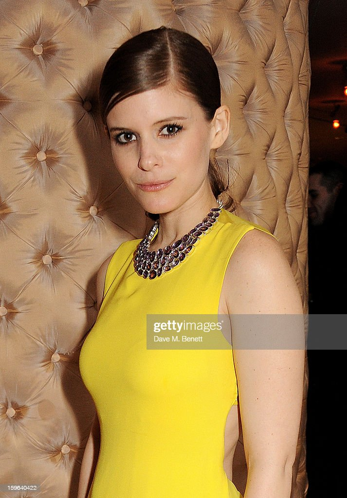 Kate Mara attends an after party celebrating the Red Carpet Premiere of the Netflix original series 'House of Cards' at Asia de Cuba, St Martins Lane Hotel, on January 17, 2013 in London, England.
