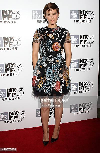 Kate Mara attends the 53rd New York Film Festival 'The Martian' Premiere at Alice Tully Hall on September 27 2015 in New York City