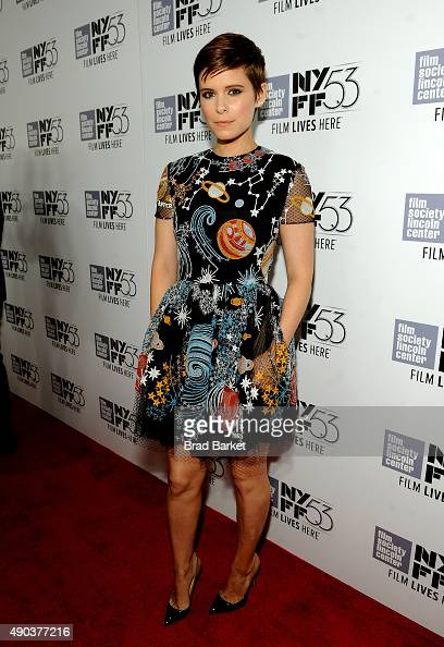 Kate Mara attends the 53rd New York Film Festival 'The Martian' Premiere Arrivals at Alice Tully Hall on September 27 2015 in New York City