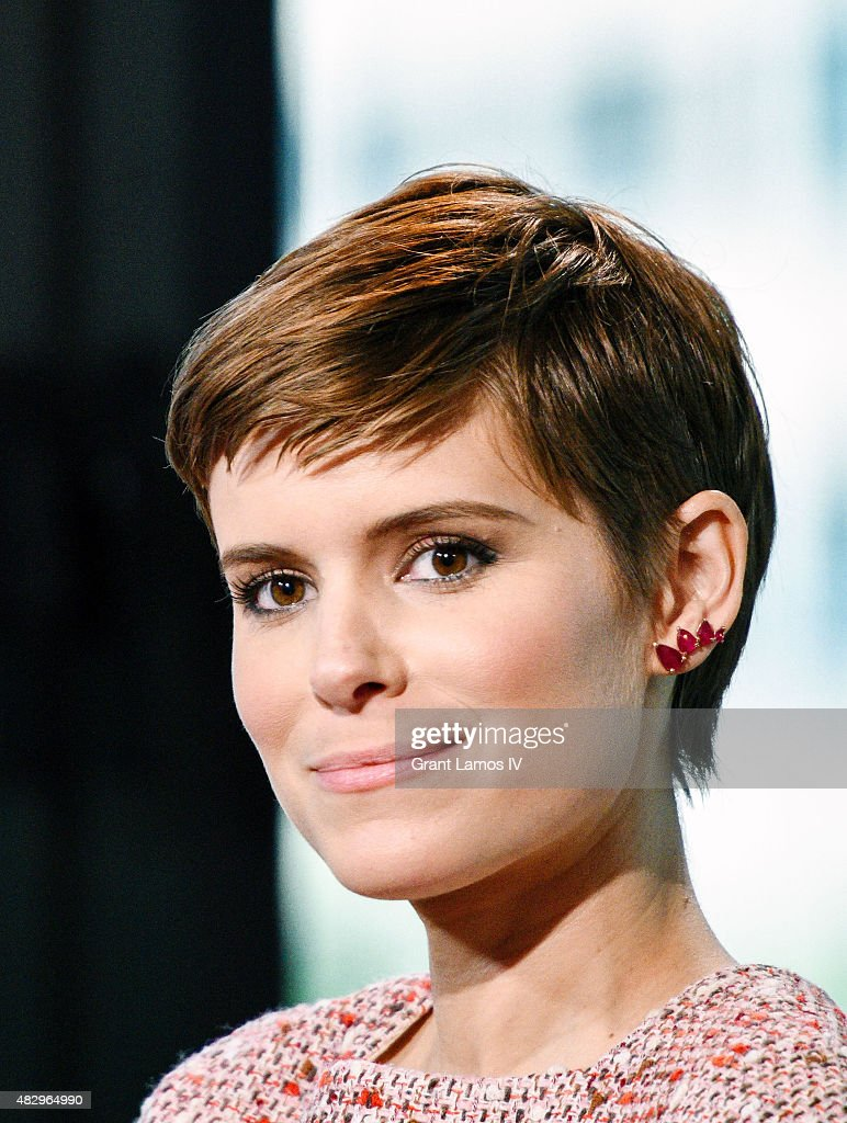 Kate Mara attends the AOL Build Speaker Series Presents 'Fantastic Four' at AOL Studios In New York on August 4 2015 in New York City