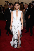 Kate Mara attends the 'China Through The Looking Glass' Costume Institute Benefit Gala at the Metropolitan Museum of Art on May 4 2015 in New York...