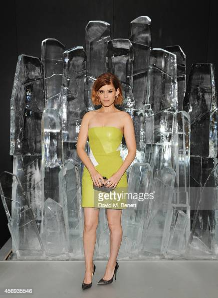 Kate Mara attends the dinner hosted by Sandra Choi Creative Director of Jimmy Choo to unveil Jimmy Choo's new VICES collection and installation by...