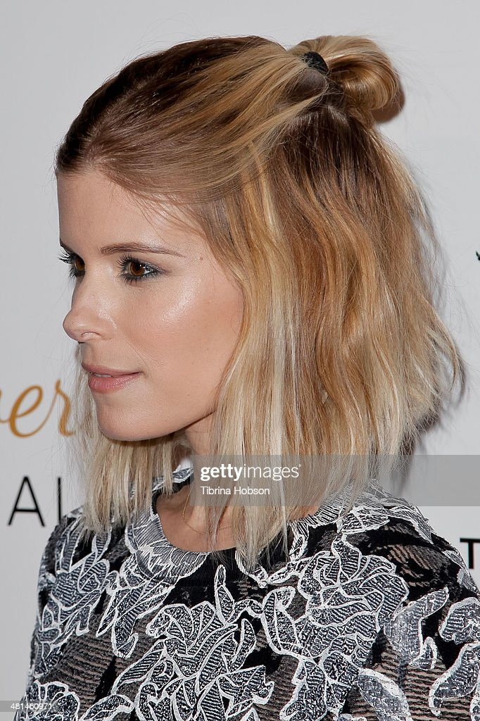 Kate Mara attends the Humane Society's 60th anniversary benefit gala at the Beverly Hilton Hotel on March 29 2014 in Beverly Hills California