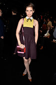 Kate Mara attends the Valentino show as part of the Paris Fashion Week Womenswear Fall/Winter 2015/2016 on March 10 2015 in Paris France