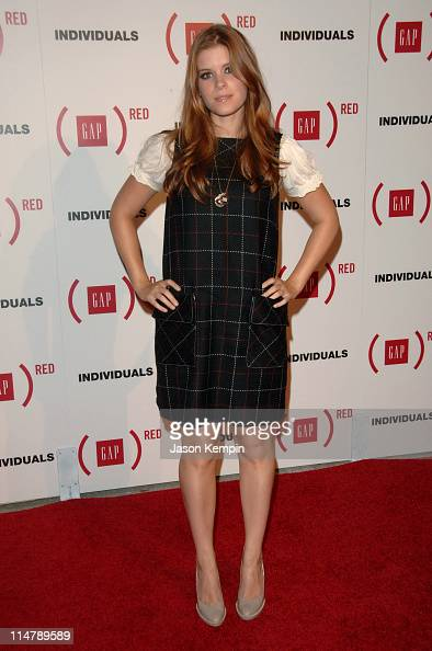 Kate Mara during Gap Celebrates the Launch of 'Individuals' A Collection of Iconic Gap Portraits Arrivals at Eyebeam in New York City New York United...