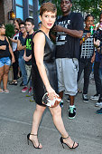 Kate Mara seen leaving her hotel on August 04 2015 in New York City