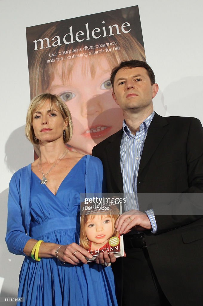 <a gi-track='captionPersonalityLinkClicked' href=/galleries/search?phrase=Kate+McCann&family=editorial&specificpeople=4278082 ng-click='$event.stopPropagation()'>Kate McCann</a> and <a gi-track='captionPersonalityLinkClicked' href=/galleries/search?phrase=Gerry+McCann&family=editorial&specificpeople=4278561 ng-click='$event.stopPropagation()'>Gerry McCann</a> launch <a gi-track='captionPersonalityLinkClicked' href=/galleries/search?phrase=Kate+McCann&family=editorial&specificpeople=4278082 ng-click='$event.stopPropagation()'>Kate McCann</a>'s new book' 'Madeleine' and answer questions from the press at the Queen Elizabeth II centre on May 12, 2011 in London, England. The book, written by <a gi-track='captionPersonalityLinkClicked' href=/galleries/search?phrase=Kate+McCann&family=editorial&specificpeople=4278082 ng-click='$event.stopPropagation()'>Kate McCann</a>, is a personal account of the disappearance of Madeleine and is hoped to kickstart the investigation into their missing daughter. Three year old Madeleine McCann went missing while on holiday with her parents in the Algarve region of Portugal in May 2007.