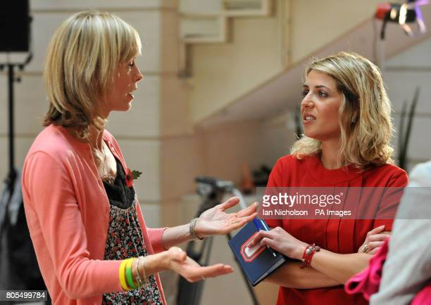 Kate McCann speaks to Portuguese TV channel RTP's reporter Sandra Felgueiras following the launch of a new video by the Child Exploitation and Online...