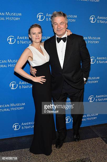 Kate McKinnon and Alec Baldwin attend the 2016 American Museum of Natural History Museum Gala at the American Museum of Natural History on November...