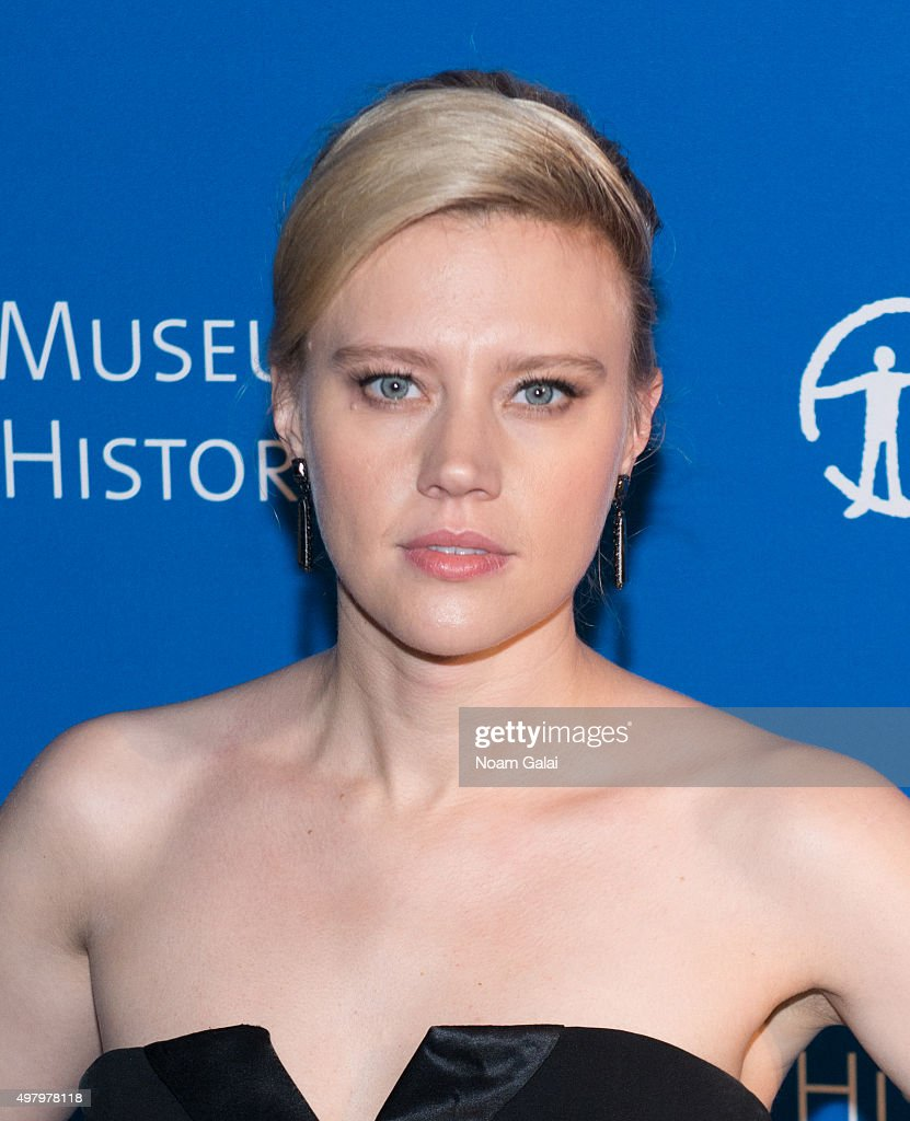 Kate McKinnon attends the 2015 American Museum of Natural History Museum Gala at American Museum of Natural History on November 19, 2015 in New York City.