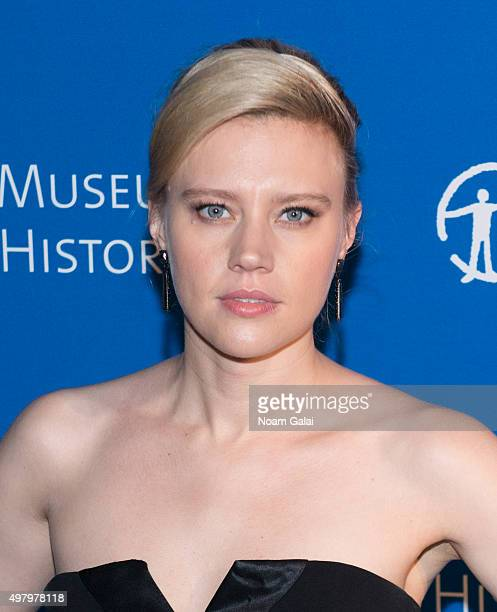 Kate McKinnon attends the 2015 American Museum of Natural History Museum Gala at American Museum of Natural History on November 19 2015 in New York...