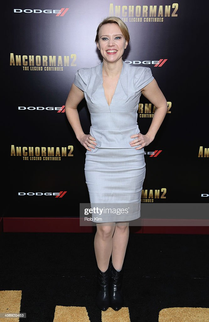 Kate McKinnon attends the 'Anchorman 2: The Legend Continues' U.S. premiere at Beacon Theatre on December 15, 2013 in New York City.