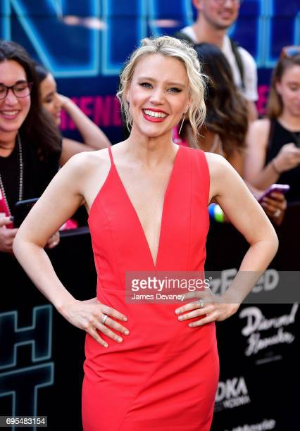 Kate McKinnon attends the 'Rough Night' New York Premeire at AMC Lincoln Square Theater on June 12 2017 in New York City
