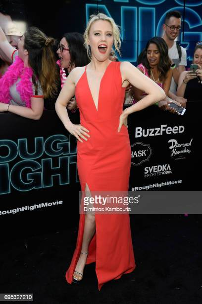 Kate McKinnon attends the 'Rough Night' premeire at AMC Loews Lincoln Square on June 12 2017 in New York City