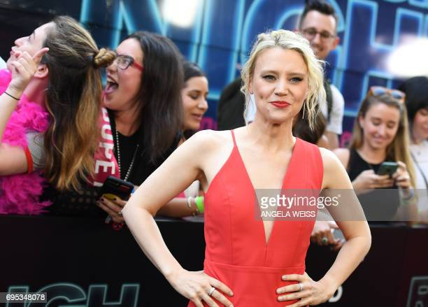 Kate McKinnon attends the 'Rough Night' premeire at AMC Loews Lincoln Square on June 12 2017 in New York City / AFP PHOTO / ANGELA WEISS