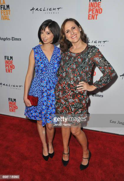 Kate Micucci and Molly Shannon attend the screening of 'The Little Hours' during 2017 Los Angeles Film Festival at Arclight Cinemas Culver City on...