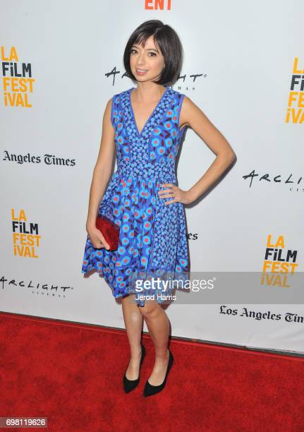 Kate Micucci attends the screening of 'The Little Hours' during 2017 Los Angeles Film Festival at Arclight Cinemas Culver City on June 19 2017 in...