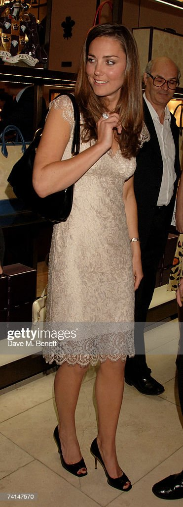 Kate Middleton attends the book launch party of The Young Stalin: The Adventurous Early Life Of The Dictator 1878-1917 by Simon Sebag Montefiore, at Asprey May 14, 2007 in London, England.
