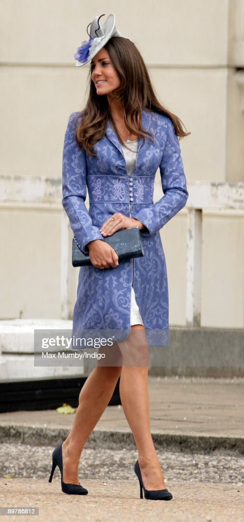 Kate Middleton attends the wedding of Nicholas van Cutsem and Alice Hadden-Paton at The Guards Chapel, Wellington Barracks on August 14, 2009 in London, England.