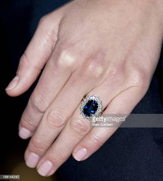 Kate Middleton During A Photocall In The State Apartments Of St James'S Palace London To Mark Her Engagement To Prince William