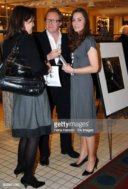 Kate Middleton girlfriend of Prince William hosting an exhibition of limited edition photographs of celebrities by Alistair Morrison at the Bluebird...