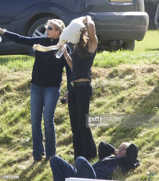 Kate Middleton Spotted At Beaufort Polo Club Gloucestershire Whilst Watching Prince William And Prince Harry In A Charity Polo Match