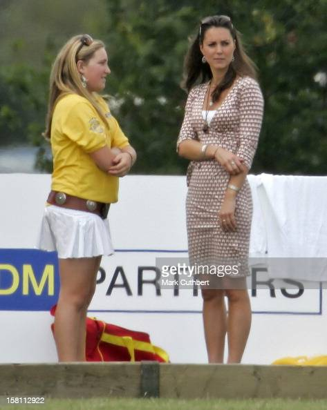 Kate Middleton Watches Polo At Englefield House Pictures
