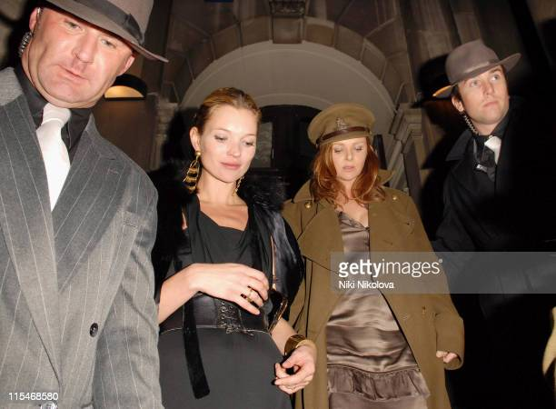 Kate Moss and Stella McCartney during Sam Taylor Wood's Birthday Party at Shoreditch Town Hall in London Great Britain