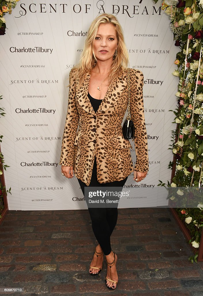 Charlotte Tilbury Celebrates The Launch Of Her First Fragrance With 'Face' Kate Moss