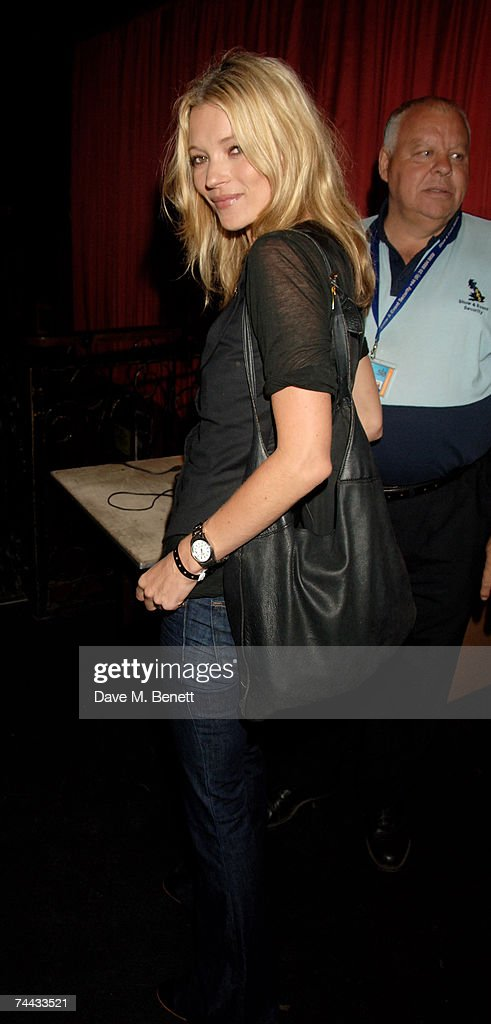 Kate Moss attends private gig performed by Paul McCartney, at the Electric Ballroom on June 7, 2007 in London, England.