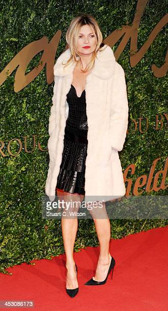 Kate Moss attends the British Fashion Awards 2013 at London Coliseum on December 2 2013 in London England