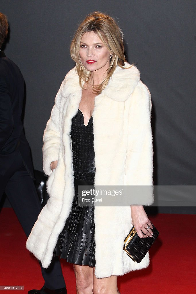 Kate Moss attends the British Fashion Awards 2013 at London Coliseum on December 2, 2013 in London, England.