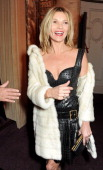 Kate Moss attends the British Fashion Awards 2013 drinks reception at the London Coliseum on December 2 2013 in London England