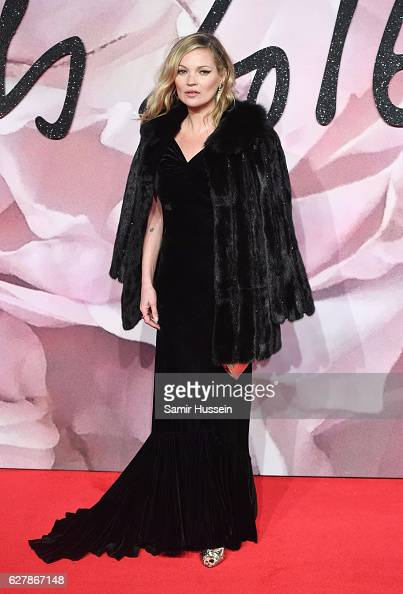 Kate Moss attends The Fashion Awards 2016 on December 5 2016 in London United Kingdom