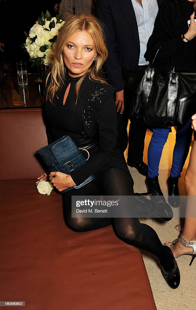 Kate Moss attends the launch of the Longchamp London flagship store on September 14, 2013 in London, England.